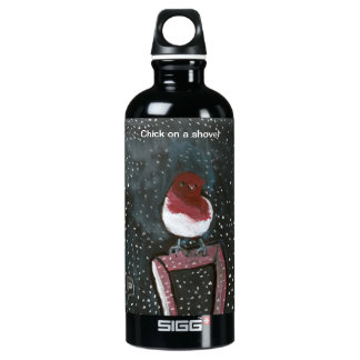Chick on a shovel Liberty Bottle SIGG Traveller 0.6L Water Bottle
