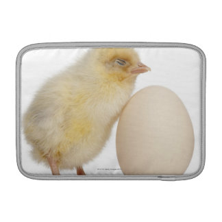 Chick with egg (2 days old) sleeve for MacBook air