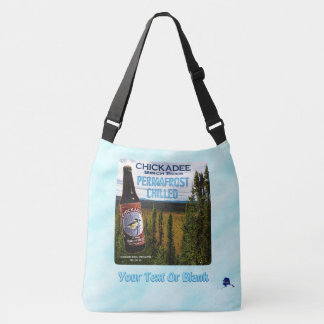 Chickadee Birch Beer Crossbody Bag