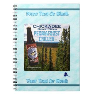 Chickadee Birch Beer Notebooks