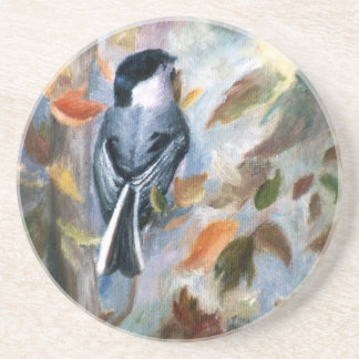 Chickadee In the Fall Coaster