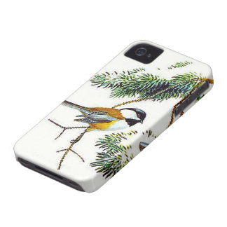 Chickadee iPhone 4S Case-Mate Case