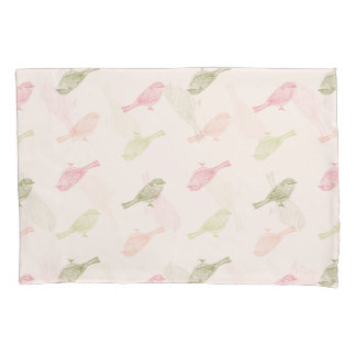 Chickadee Soft Pattern Pillow Case