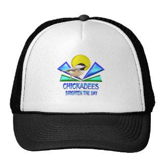 Chickadees Brighten the Day Trucker Hat
