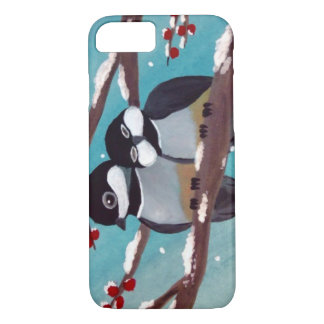 Chickadees iPhone 7 case