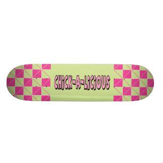 Chickalicious! Skate Board Decks