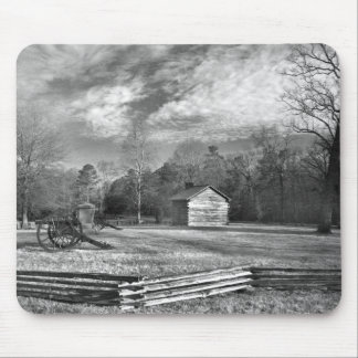 Chickamauga Battlefield Cabin Mouse Pad