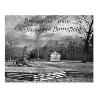 Chickamauga Battlefield Postcard