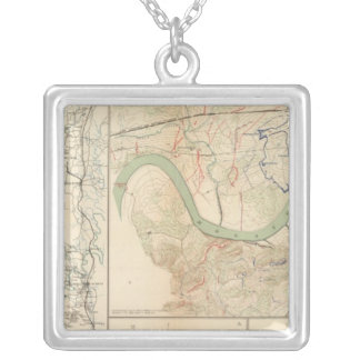 Chickamauga campaign, Knoxville Silver Plated Necklace