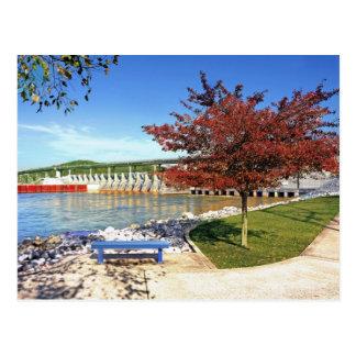 Chickamauga Dam - Chattanooga,Tennessee, U.S.A. Postcard