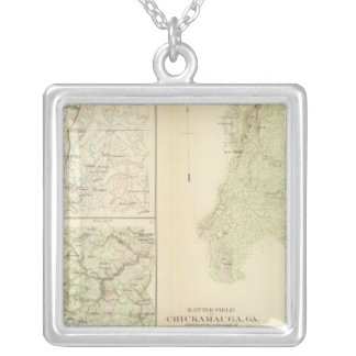 Chickamauga, Ga Silver Plated Necklace