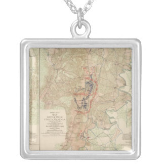 Chickamauga, Turkeytown Valley Silver Plated Necklace