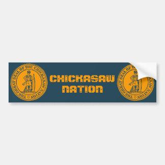 Chickasaw Seal Bumper Sticker