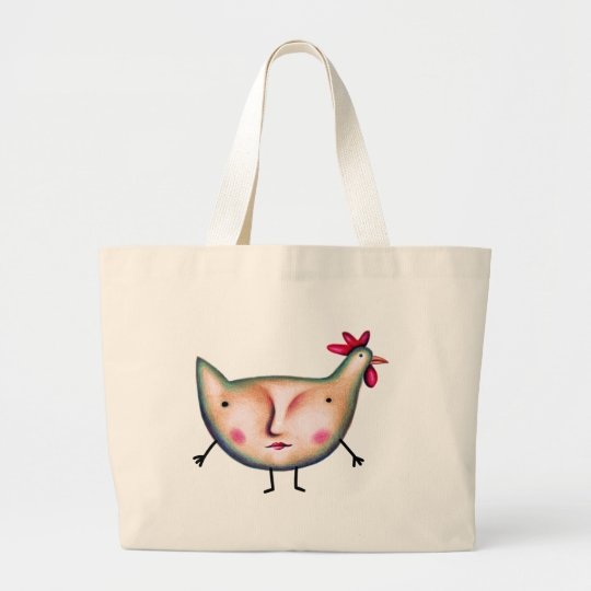 CHICKCHICK LARGE TOTE BAG