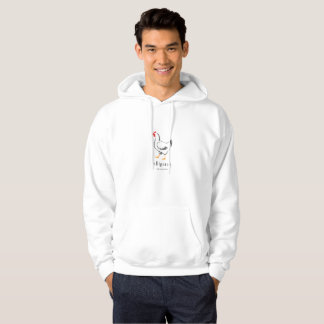Chicken/Alligator Mens Alternative facts Hoodie