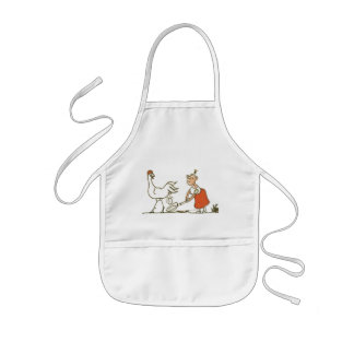 Chicken and Egg Kids Apron