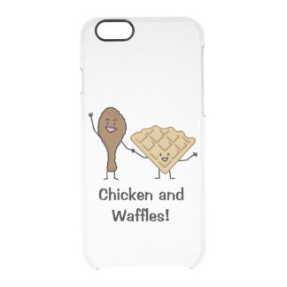 Chicken and Waffles American & Southern Cooking Clear iPhone 6/6S Case