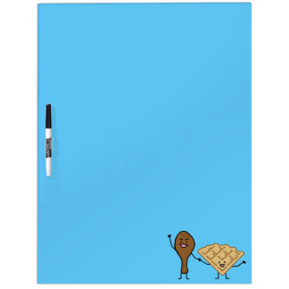 Chicken and Waffles American & Southern Cooking Dry Erase Board