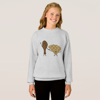 Chicken and Waffles American & Southern Cooking Sweatshirt
