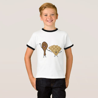 Chicken and Waffles American & Southern Cooking T-Shirt