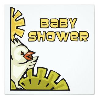 Chicken Baby Shower 13 Cm X 13 Cm Square Invitation Card