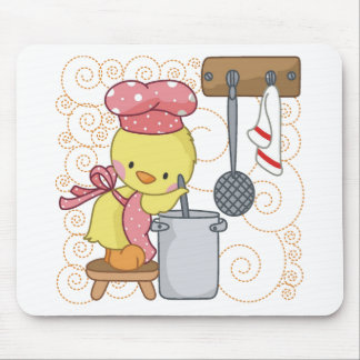 Chicken Cook Mouse Pads