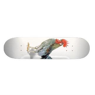 chicken custom skate board
