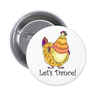 Chicken Dance 6 Cm Round Badge