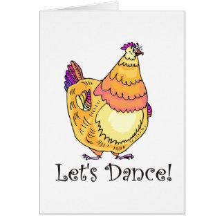 Chicken Dance Cards