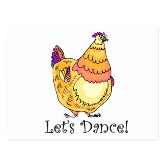 Chicken Dance Postcard