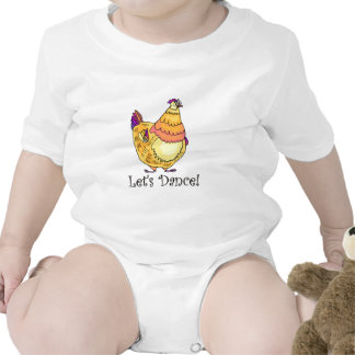 Chicken Dance Baby Creeper