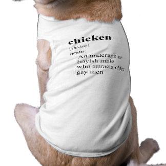 CHICKEN PET T SHIRT