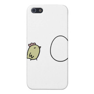 Chicken & Egg iPhone 5 Cover
