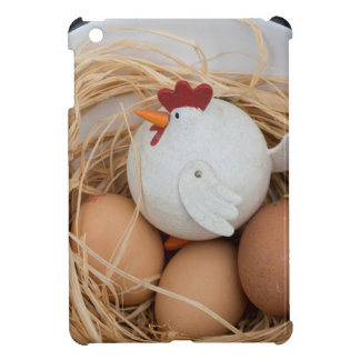 Chicken & eggs cover for the iPad mini