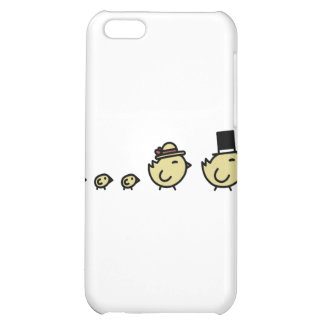 Chicken Family Cover For iPhone 5C