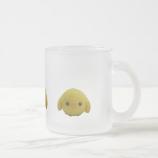 Chicken Frosted Glass Coffee Mug