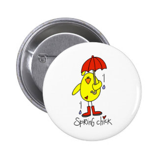 Chicken Gift 6 Cm Round Badge
