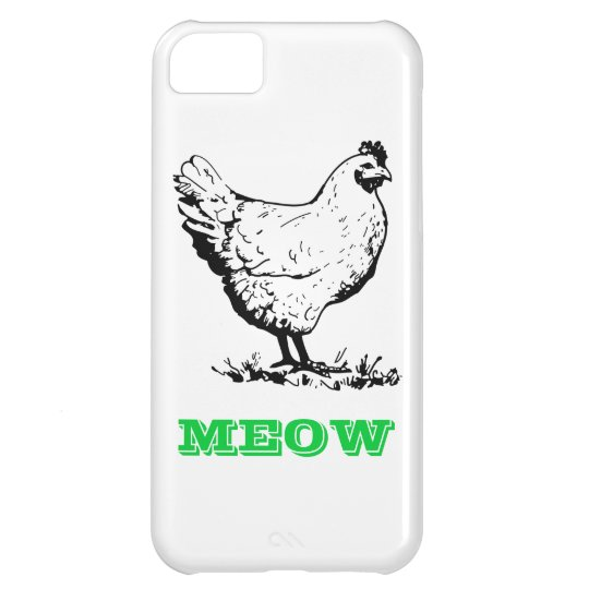 Chicken go Meow Samsung Galaxy S4 Case