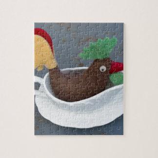 Chicken gravy jigsaw puzzle