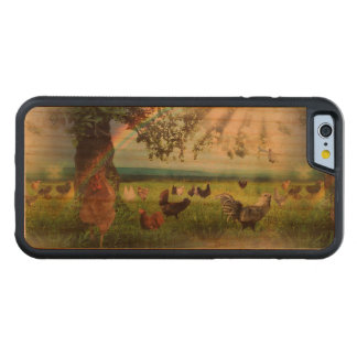 Chicken Heaven Carved Cherry iPhone 6 Bumper Case