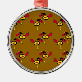 chicken hop christmas ornament