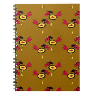 chicken hop notebook