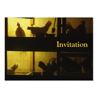 Chicken House Card