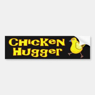 Chicken Hugger Bumper Stickers
