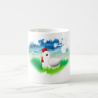 Chicken Illustration Mug