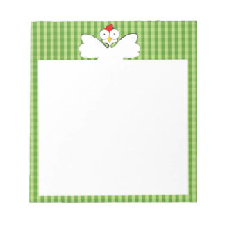 Chicken illustration notepad