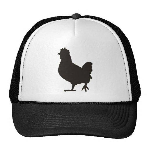 chicken is the new black trucker hat