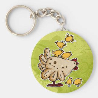 chicken key ring