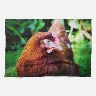 Chicken kitchen towel