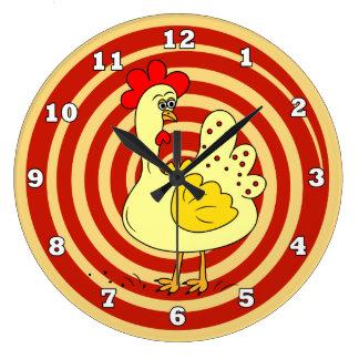 Chicken Kitchen Wall Clock